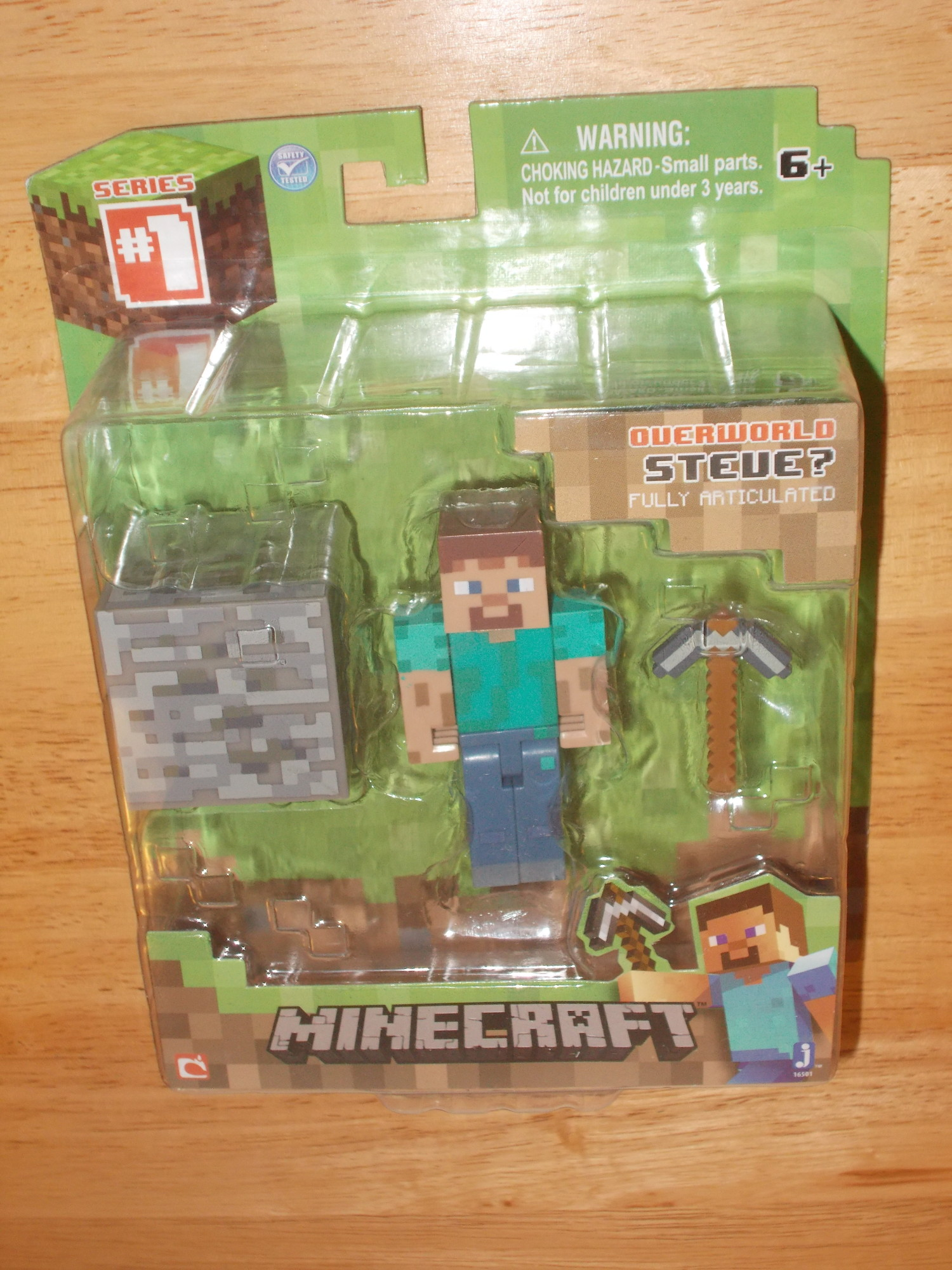 Steve With Arrows Minecraft 3 Inch Action Figure