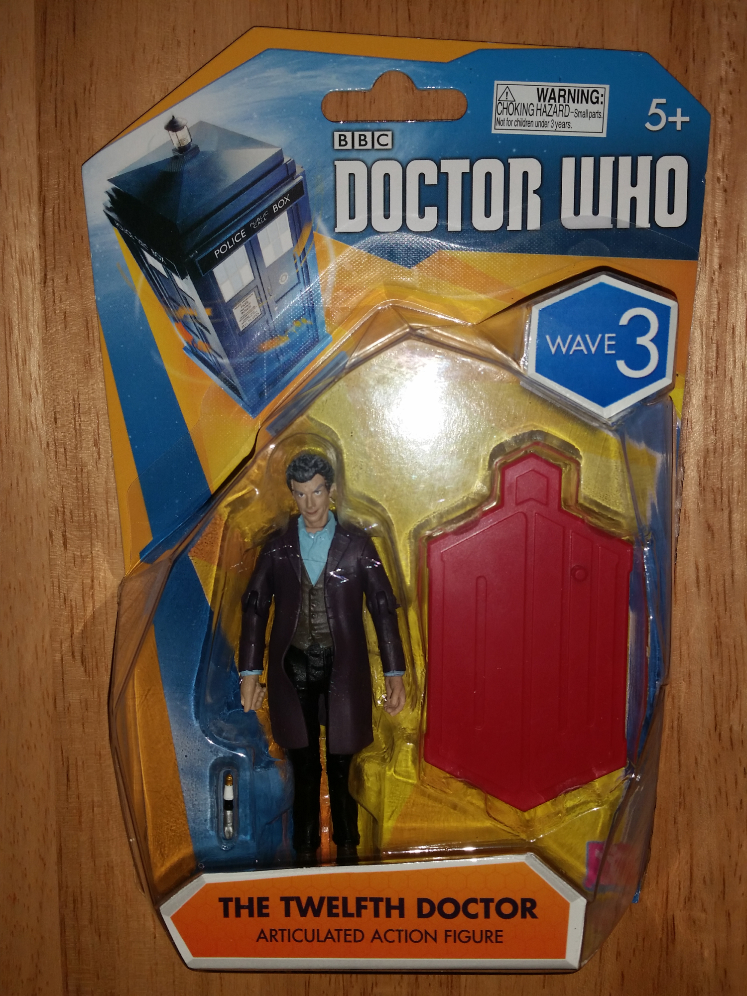 Doctor Who 3 3/4-Inch Twelfth Doctor (Red Base) Action Figure
